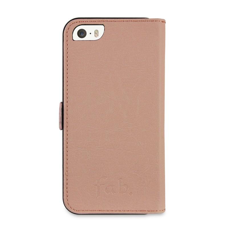 Fab. iPhone 5/5S Folio Studs Salmon - 2