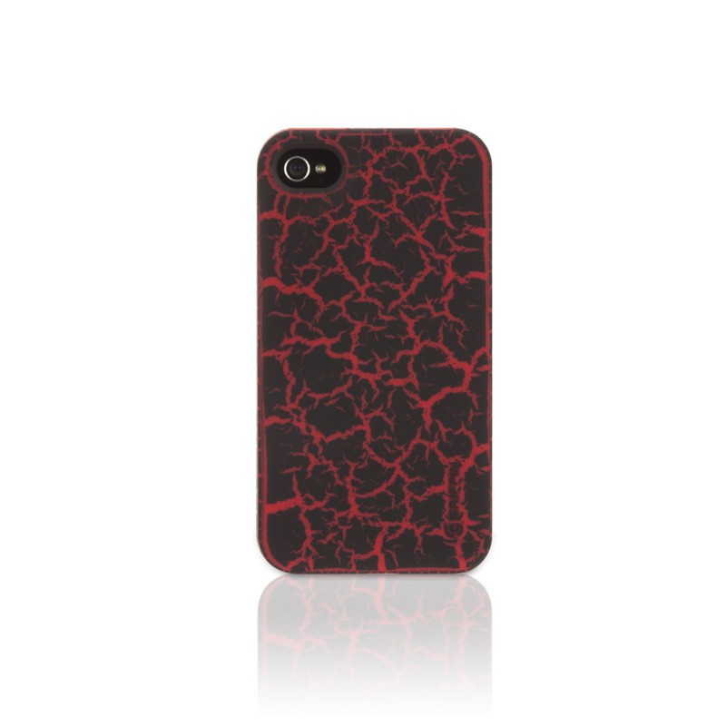 Griffn - Outfit Crackle iPhone 4(S) Red 01