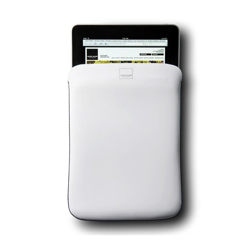 Acme Made - The Skinny Sleeve voor iPad 1 & 2 White 02