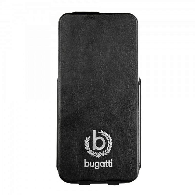 Bugatti - Ultra Thin Flip Case iPhone 5/5S Black - 2