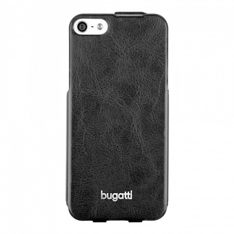 Bugatti - Ultra Thin Flip Case iPhone 5/5S Black - 3