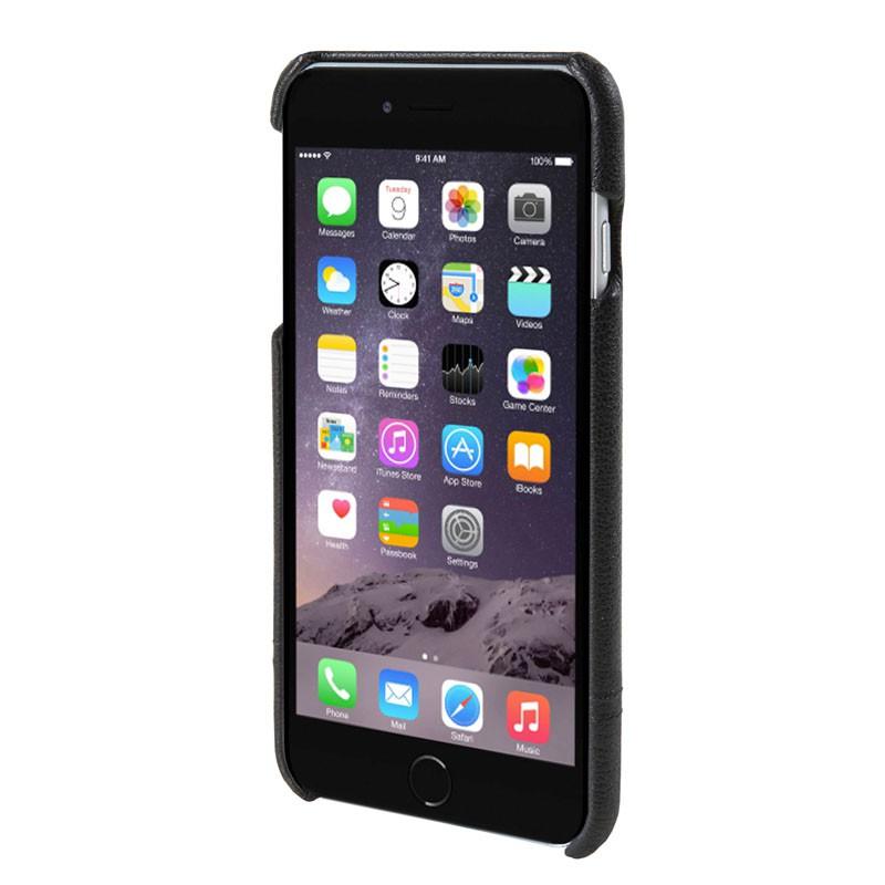 HEX Solo Wallet Case iPhone 6 Plus Black Pebbled - 2