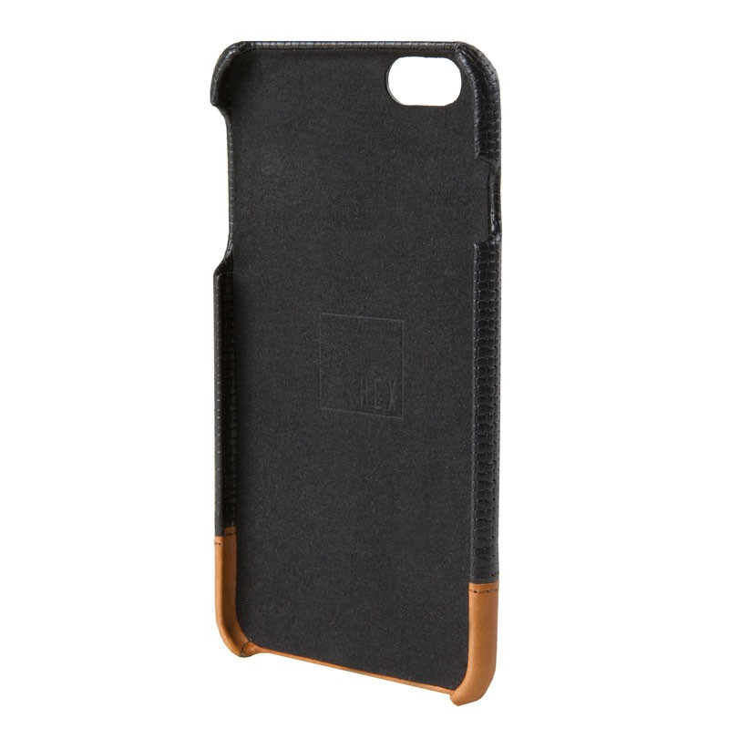 HEX Icon Wallet Case iPhone 6 Black Woven - 3