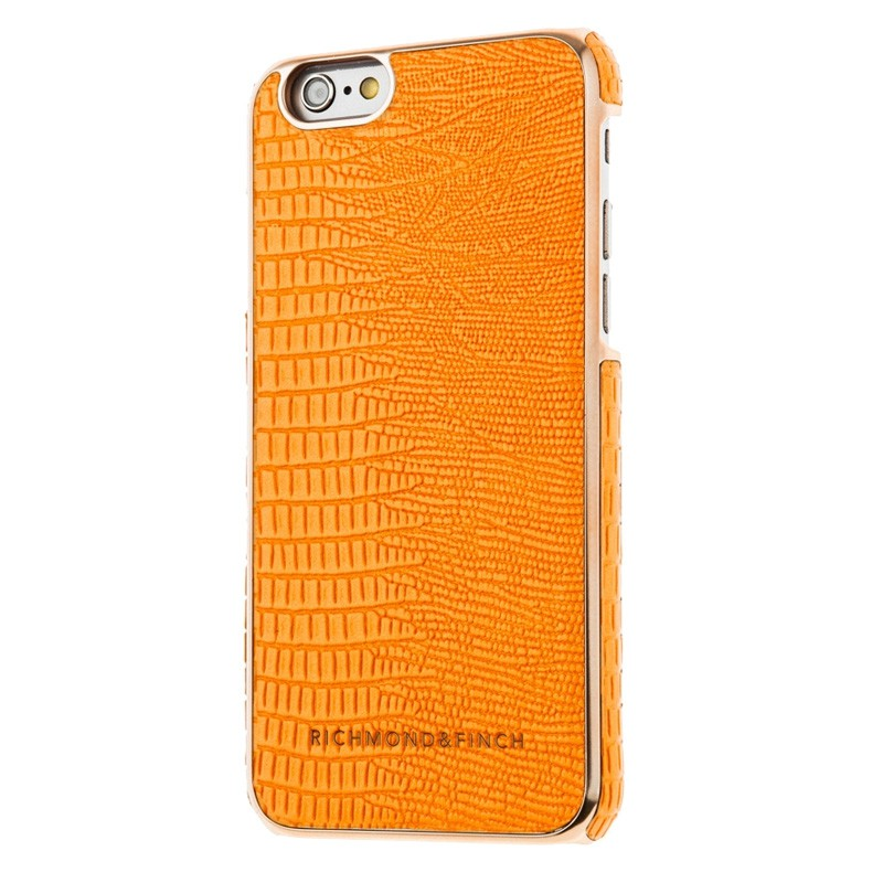 Richmond & Finch Framed Rosé iPhone 6 / 6S Goldfish Orange Reptile - 2
