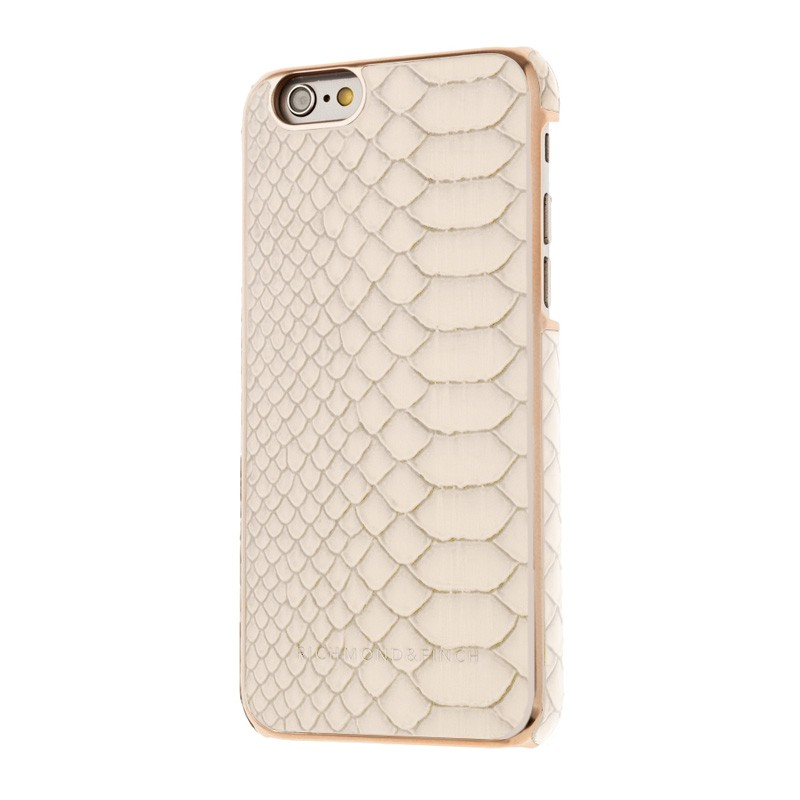 Richmond & Finch Framed Rosé iPhone 6 / 6S White Reptile - 2