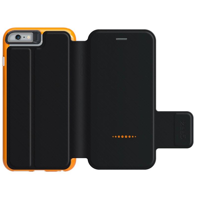 Gear4 3DO BookCase iPhone 6 Plus / 6S Plus Black/Orange - 2