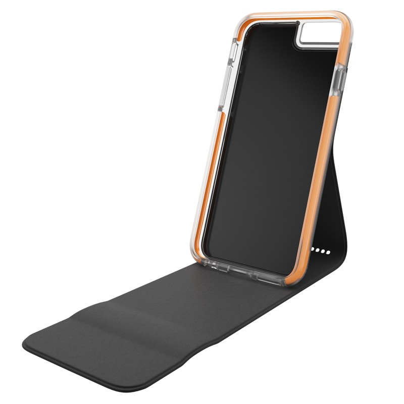 Gear4 3DO FlipCase iPhone 6 Plus / 6S Plus Black/Orange - 1