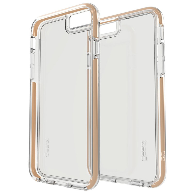 Gear4 3DO IceBox Tone iPhone 6 / 6S Gold/Clear - 2