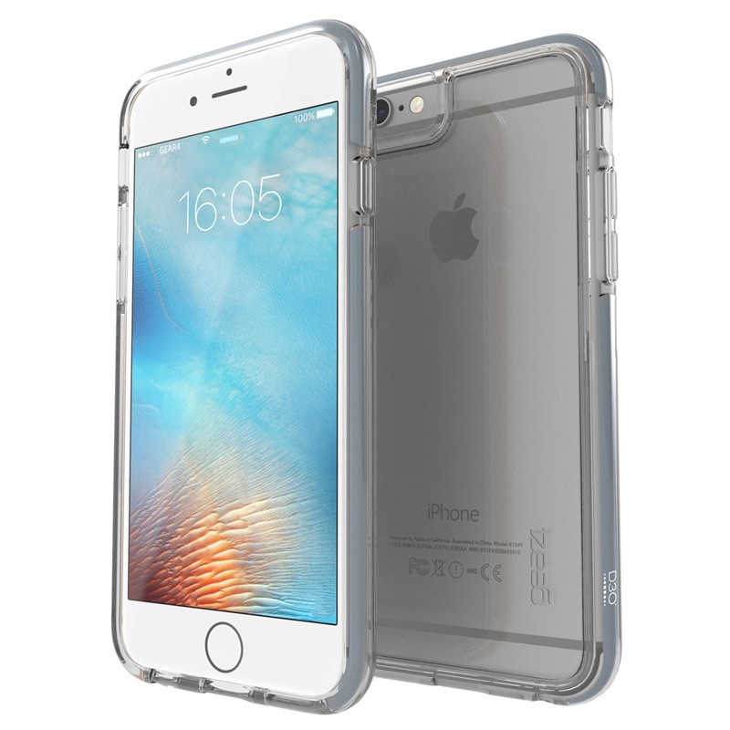 Gear4 3DO IceBox Tone iPhone 6 Plus / 6S Plus Grey/Clear - 1