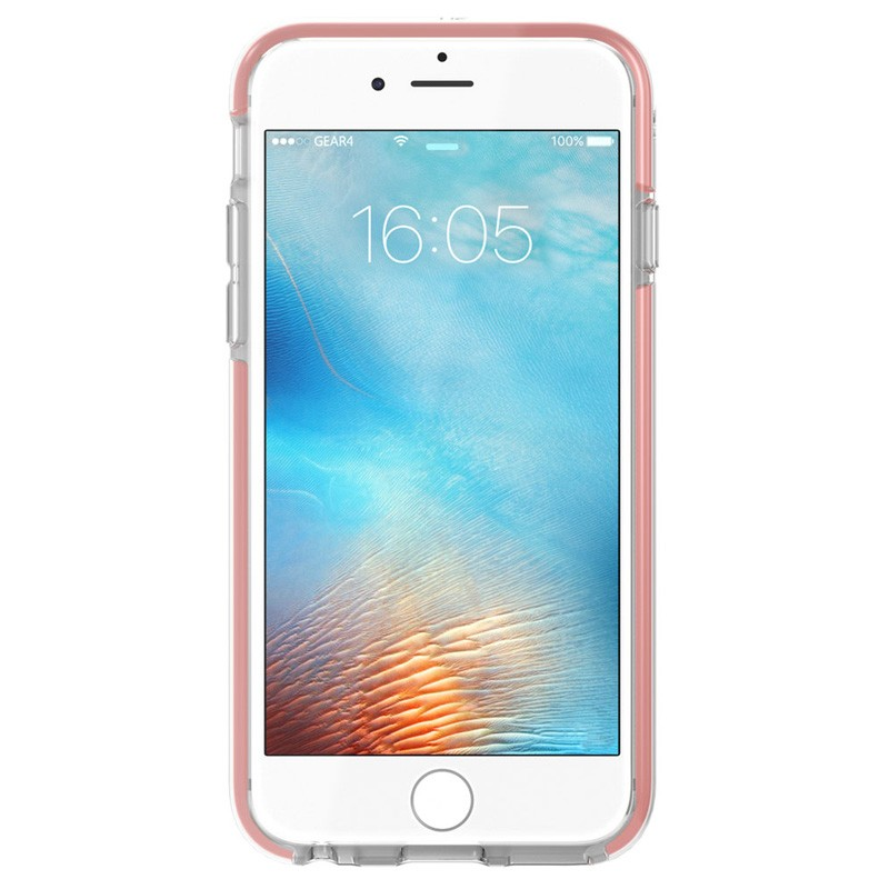 Gear4 3DO IceBox Tone iPhone 6 Plus / 6S Plus Rose Gold/Clear - 4