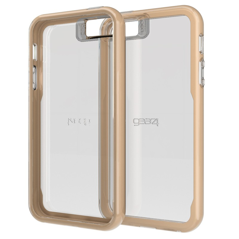 Gear4 3DO JumpSuit Tone iPhone SE/5S/5 Gold/Clear - 1