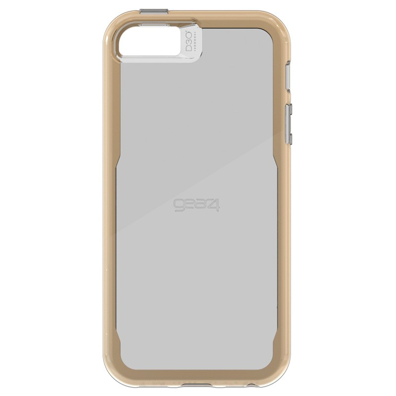 Gear4 3DO JumpSuit Tone iPhone SE/5S/5 Gold/Clear - 2