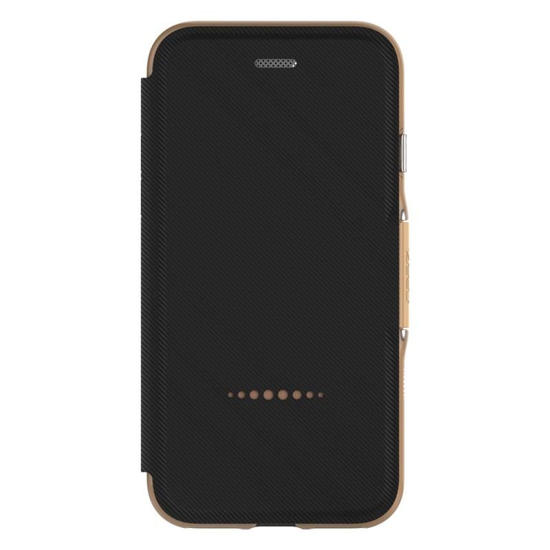 Gear4 Oxford Book Case iPhone 7 Black/ Gold - 4