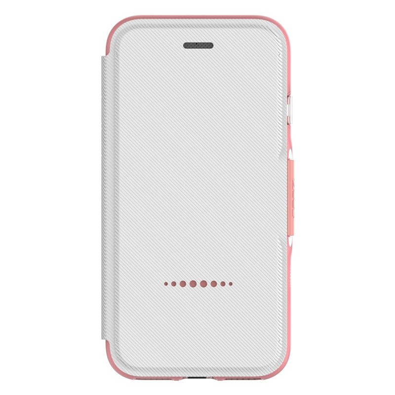 Gear4 Oxford Book Case iPhone 7 White/Pink - 4