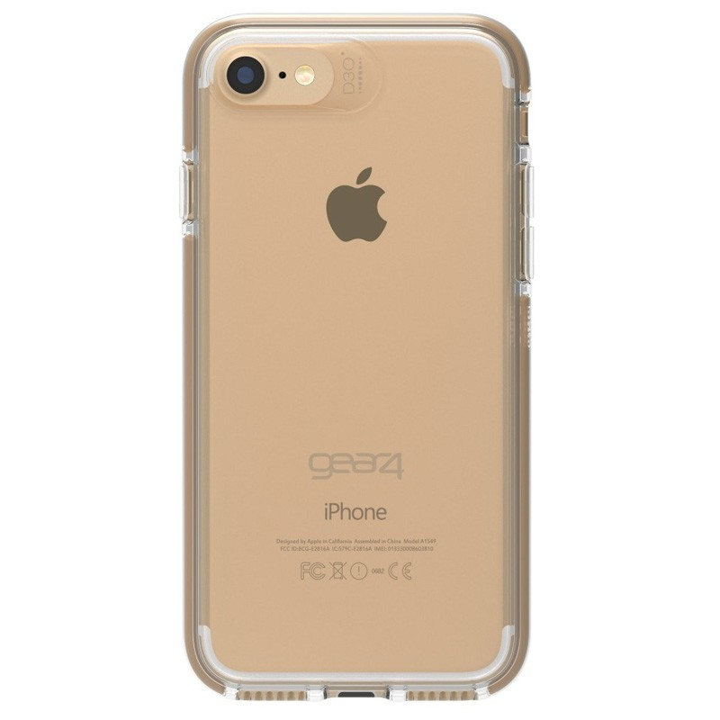 Gear4 Piccadilly iPhone 7 Gold/Clear - 2