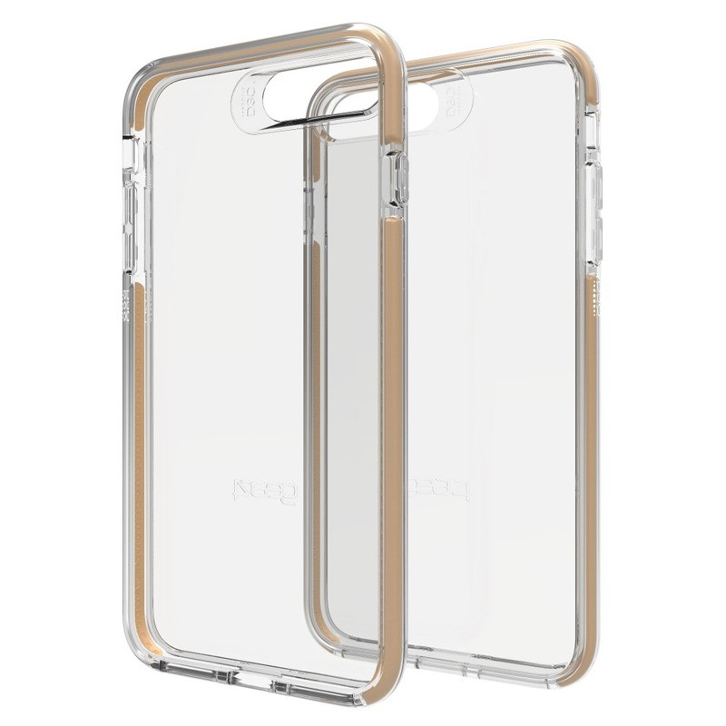 Gear4 Piccadilly iPhone 7 Plus Gold/Clear - 1