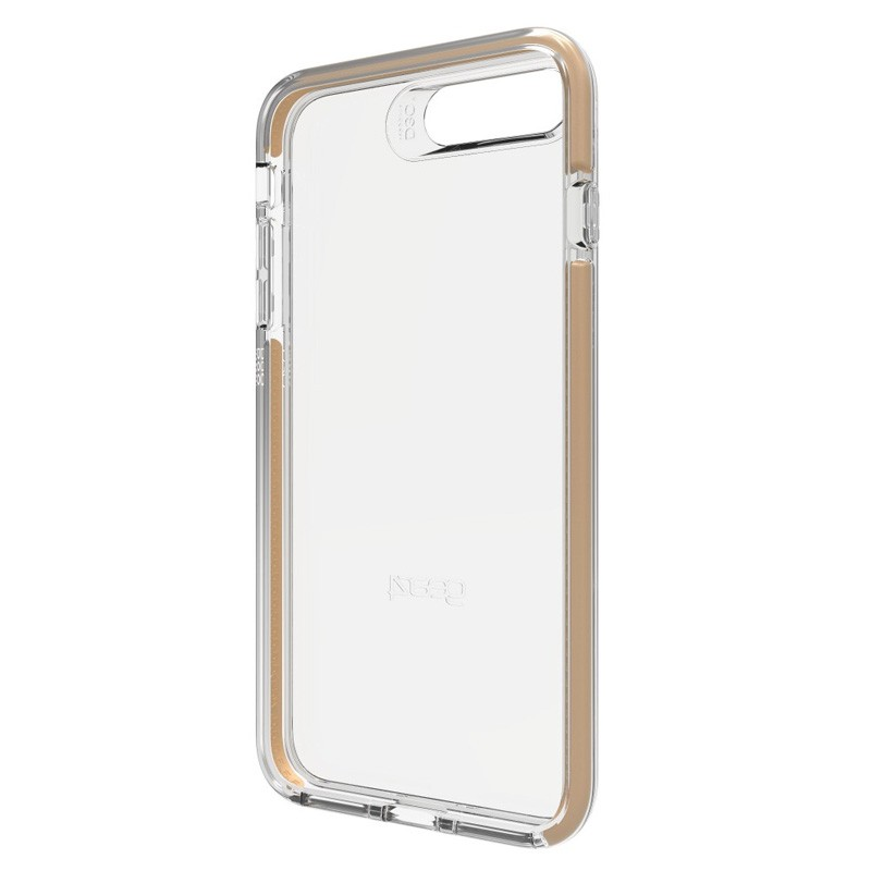 Gear4 Piccadilly iPhone 7 Plus Gold/Clear - 2
