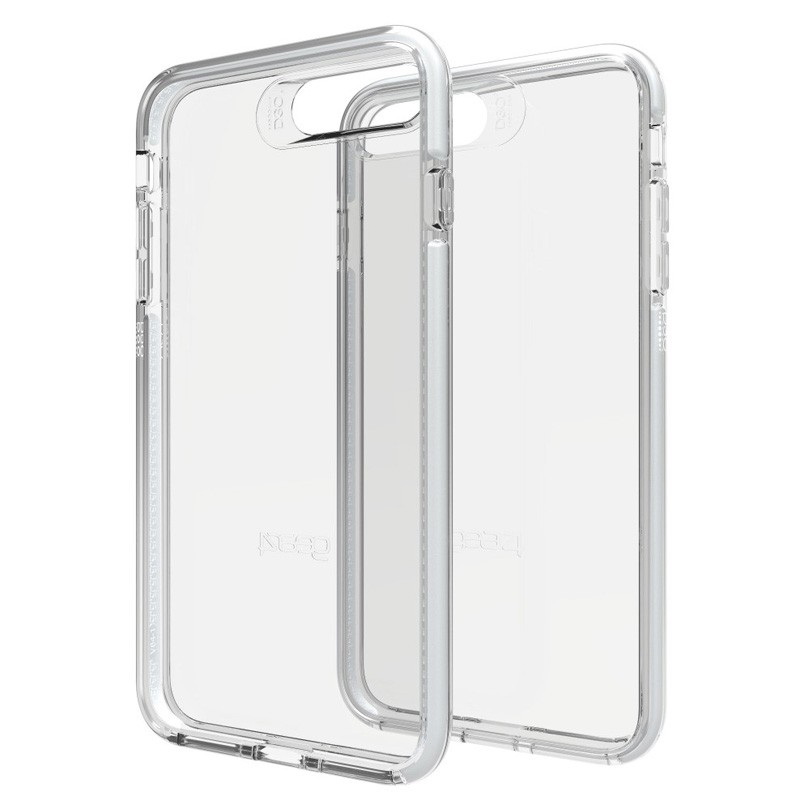 Gear4 Piccadilly iPhone 7 Plus Silver/Clear - 1