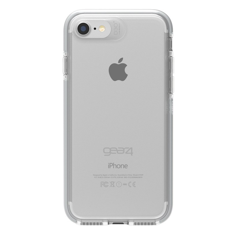 Gear4 Piccadilly iPhone 7 Silver/Clear - 2