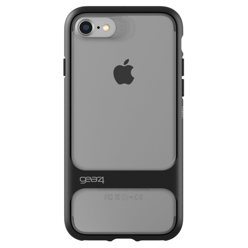 Gear4 Soho D3O Case iPhone 7 Black/Clear - 2