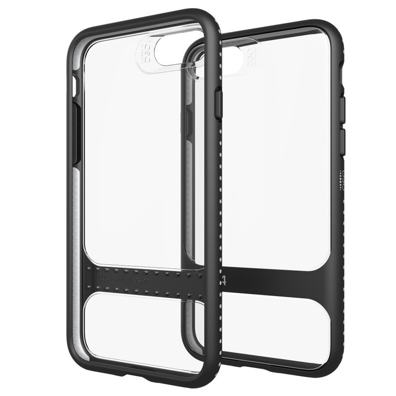 Gear4 Soho D3O Case iPhone 7 Black/Clear - 1