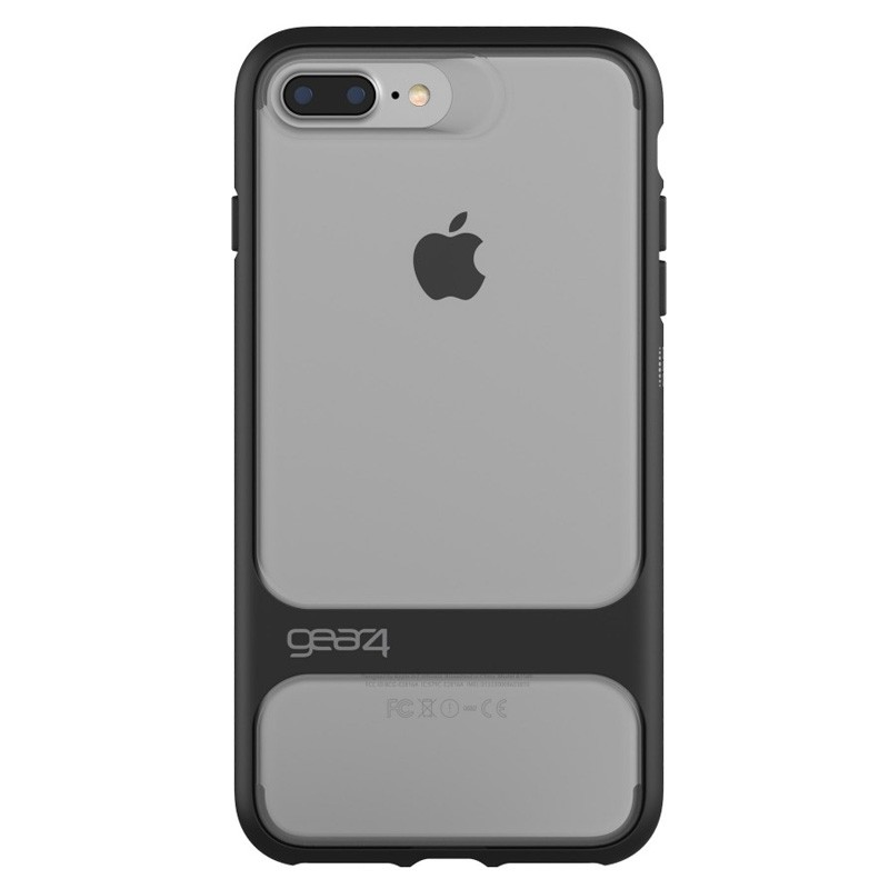 Gear4 Soho D3O Case iPhone 7 Plus Black/Clear - 2