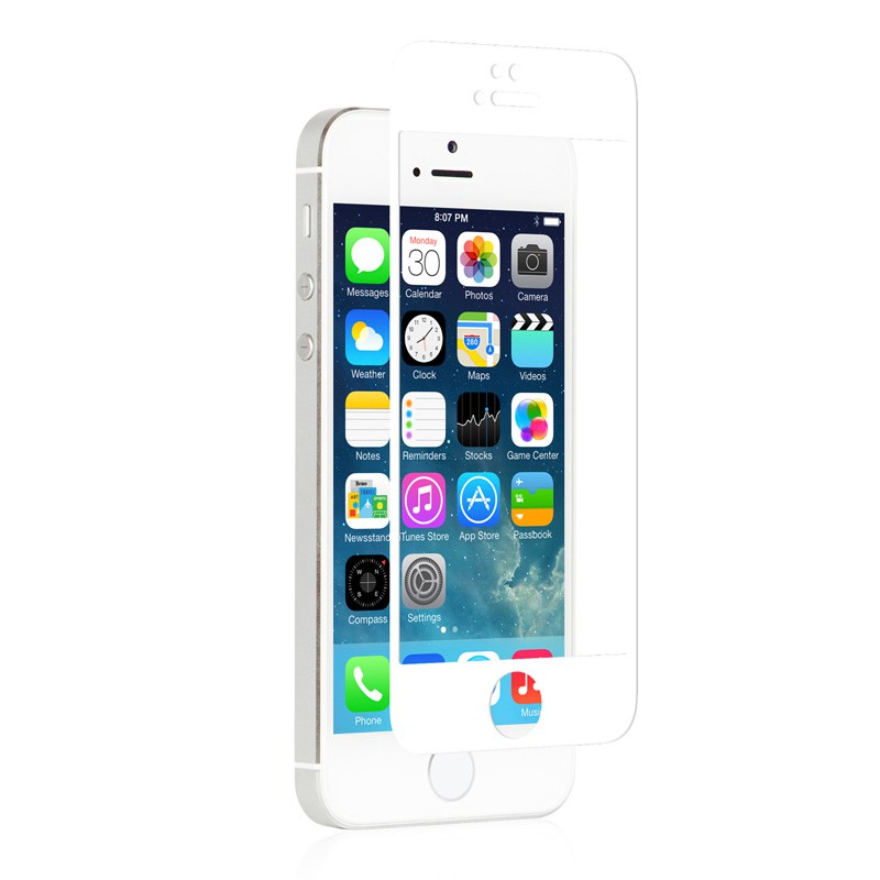 Moshi iVisor Glass iPhone 5/5S/5C White - 2
