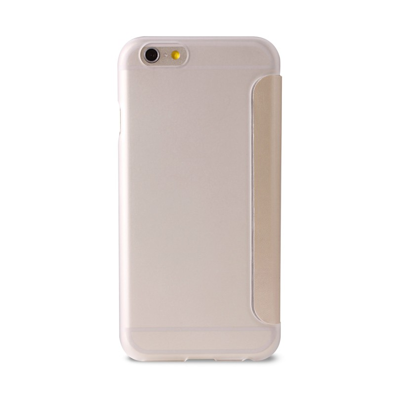 Puro - Eco Leather Wallet iPhone 6 Plus Gold - 2