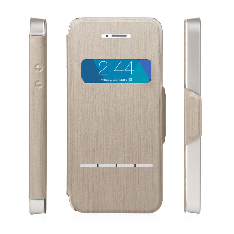 Moshi SenseCover iPhone 5/5S Gold - 3