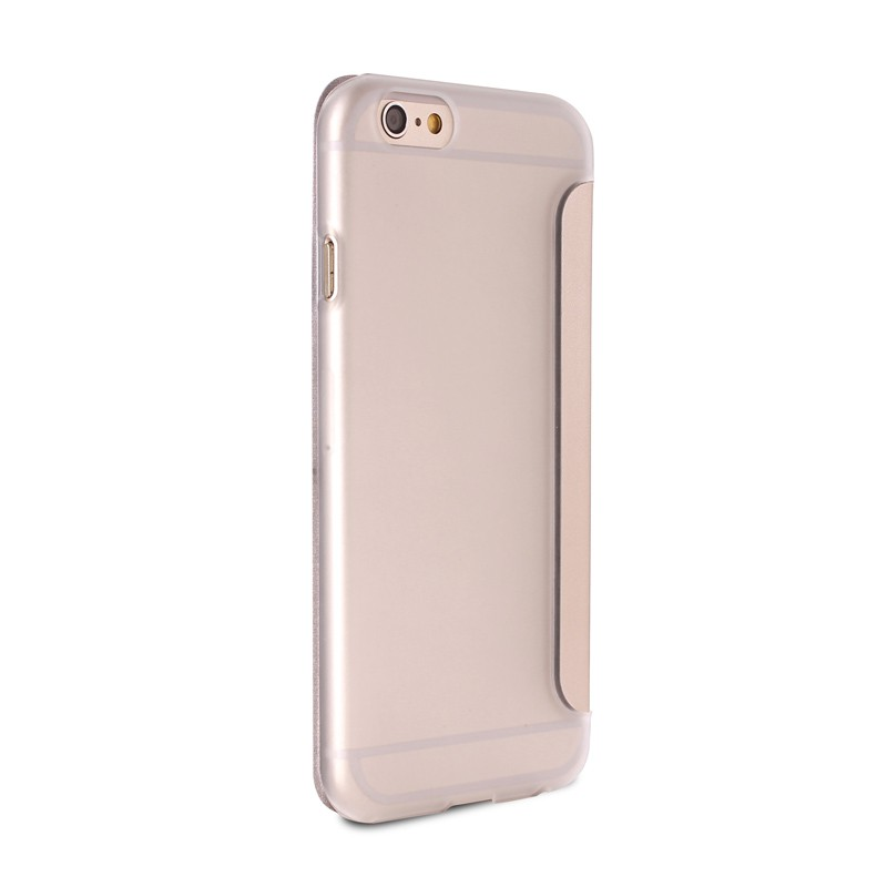Puro - Eco Leather Wallet iPhone 6 Plus Gold - 4
