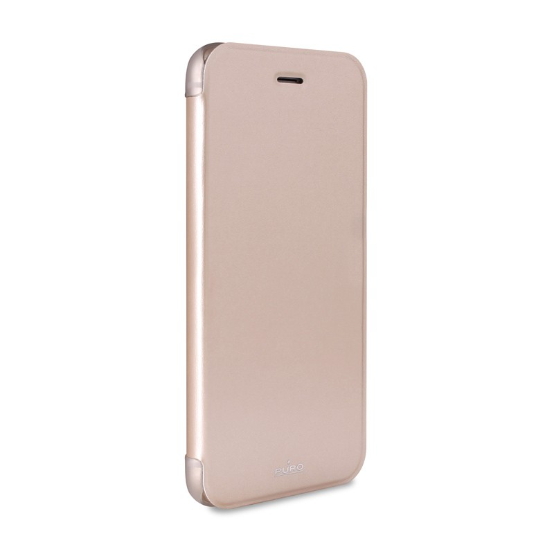 Puro - Eco Leather Wallet iPhone 6 Plus Gold - 5