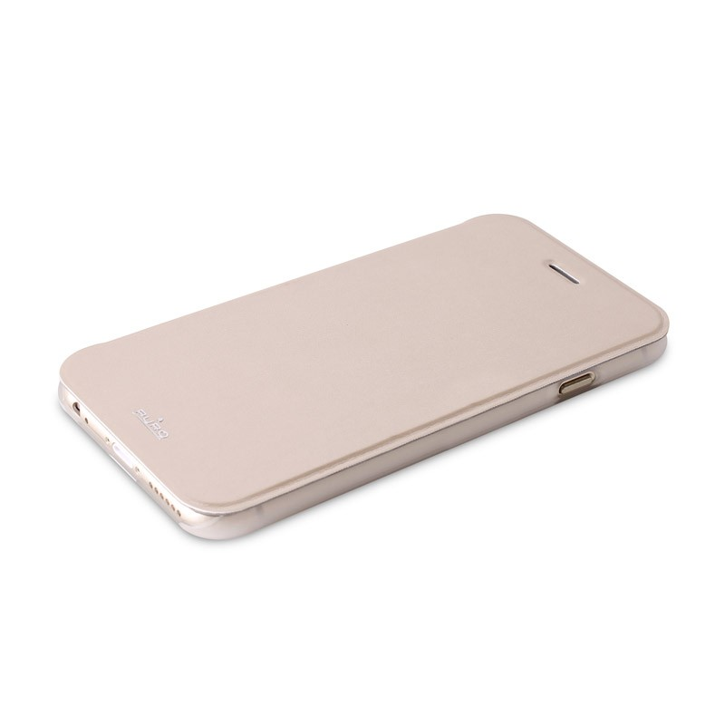 Puro - Eco Leather Wallet iPhone 6 Plus Gold - 6