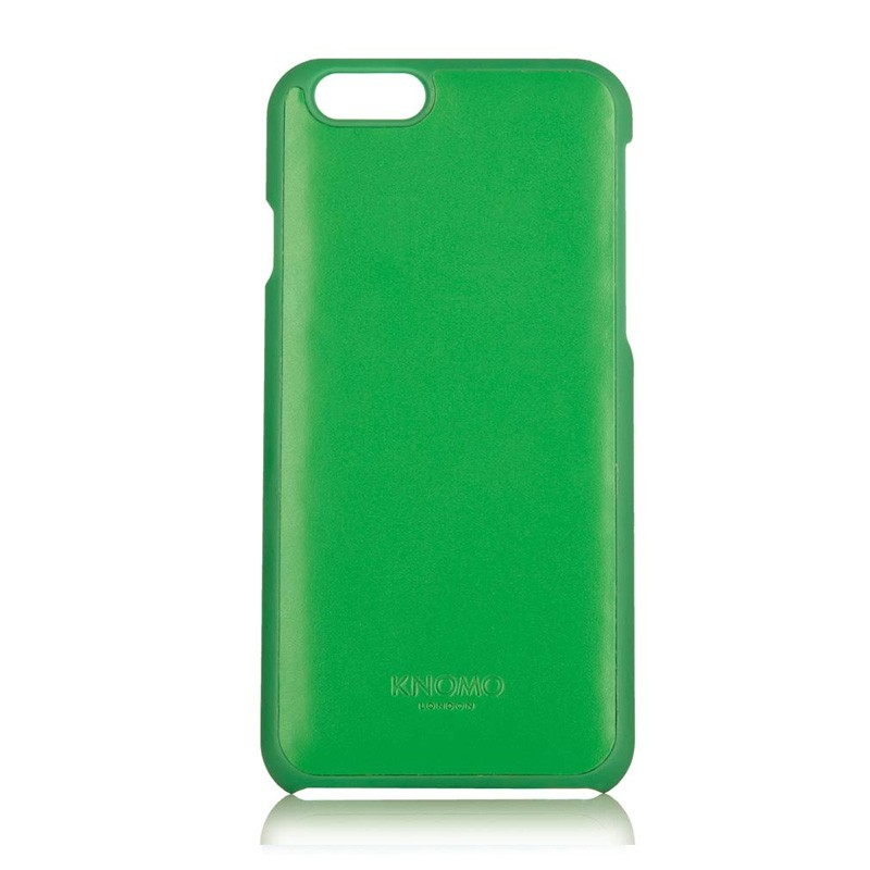 Knomo Leather Snap On iPhone 6 Green - 2
