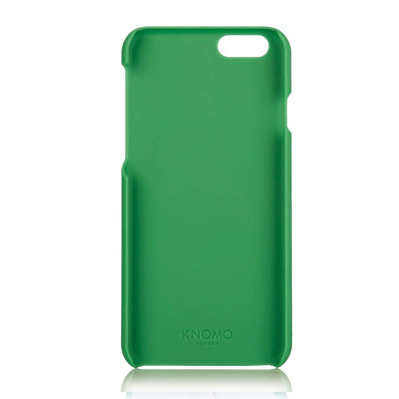 Knomo Leather Snap On iPhone 6 Green - 4