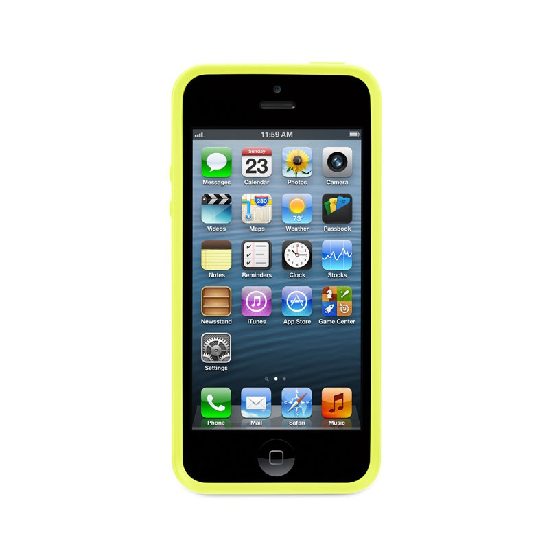 Griffin Reveal iPhone 5 Citron/Yellow 02