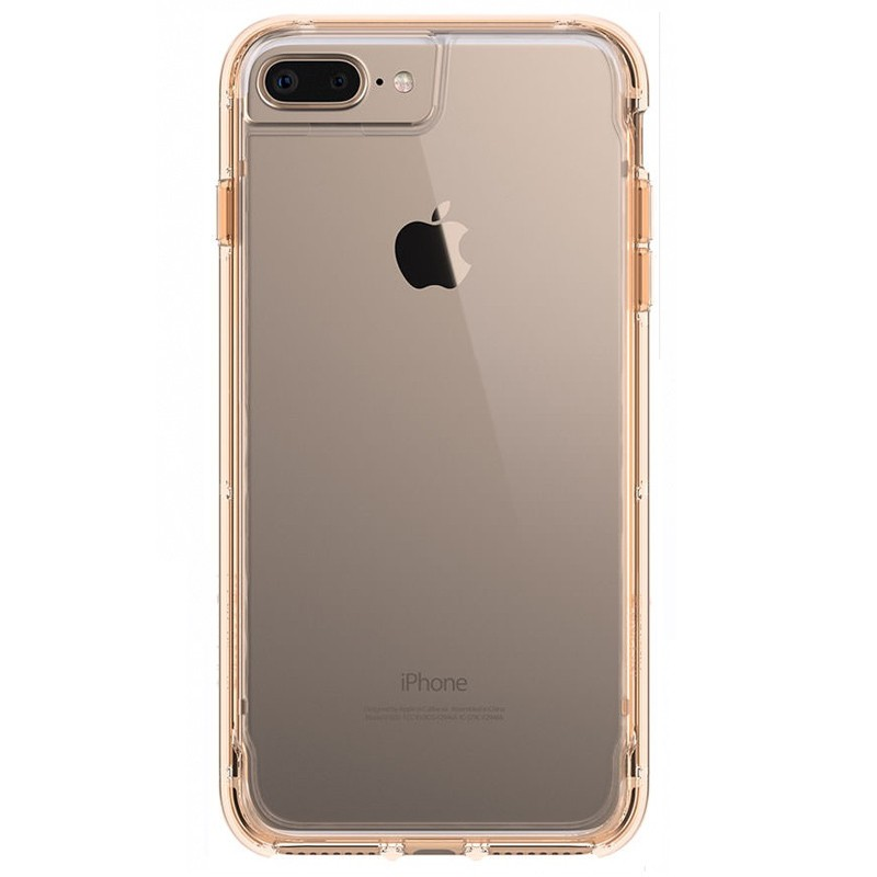 Griffin Survivor Clear iPhone 7 Plus Gold/Clear - 1