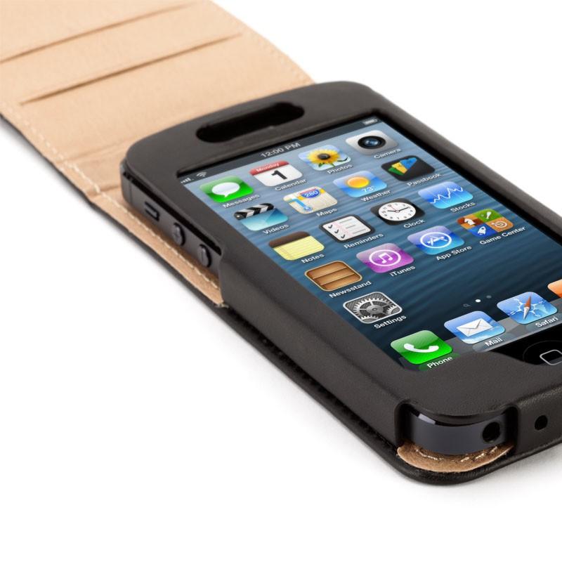 Griffin Midtown Flip iPhone 5 Black - 4