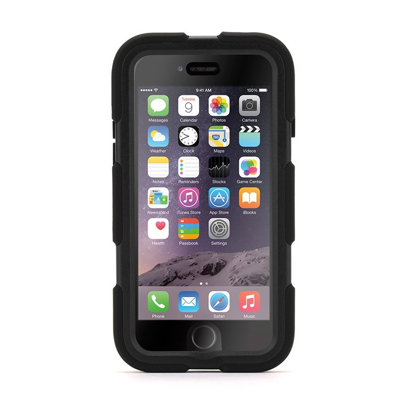 Griffin Survivor Extreme Duty Case iPhone 6 Black - 1