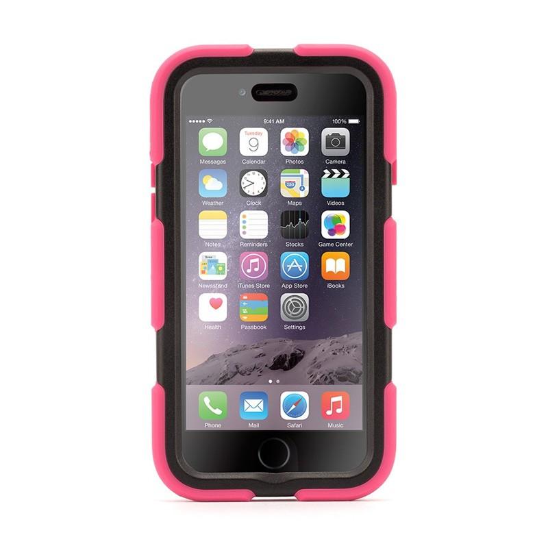Griffin Survivor Extreme Duty Case iPhone 6 Pink/Black - 1