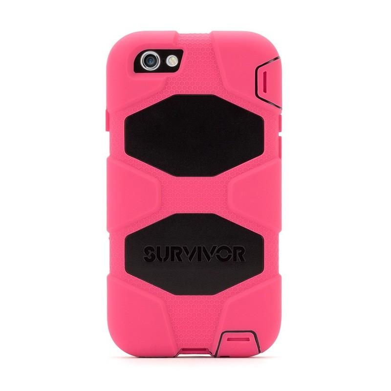 Griffin Survivor Extreme Duty Case iPhone 6 Pink/Black - 2