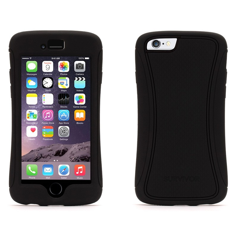 Griffin Survivor Slim iPhone 6 Black - 3