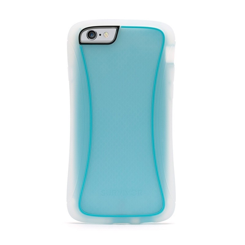Griffin Survivor Slim iPhone 6 Clear/Blue - 1