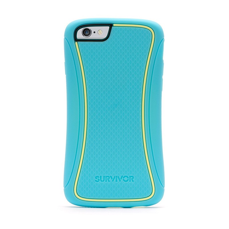Griffin Survivor Slim iPhone 6 Turqoise/Yellow - 1