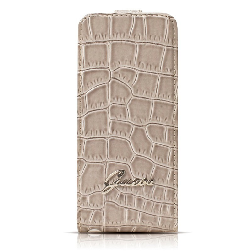 Guess - Crocodile Flip Case iPhone SE / 5S / 5 02