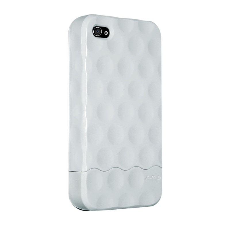 Hard Candy Bubble Slider iPhone 4 White - 1