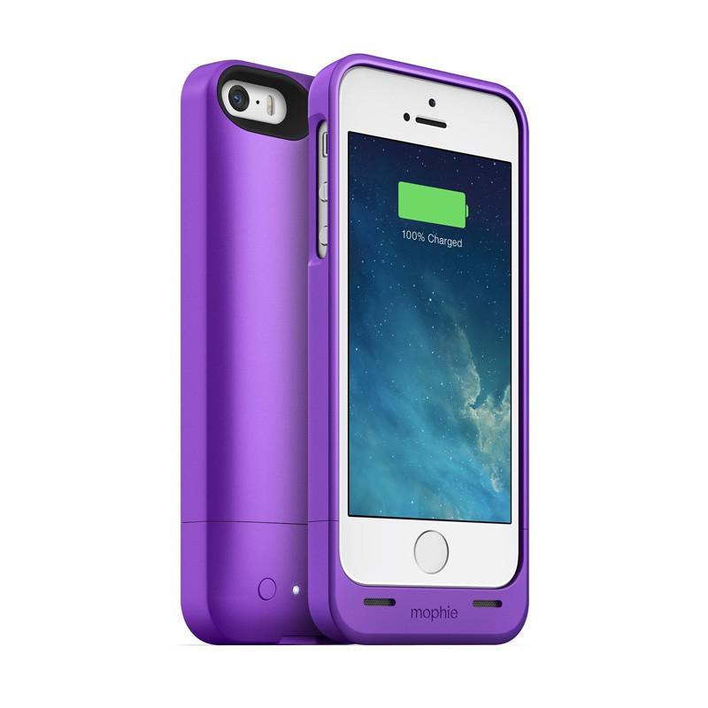Mophie Juice Pack Helium iPhone 5/5S Purple - 4