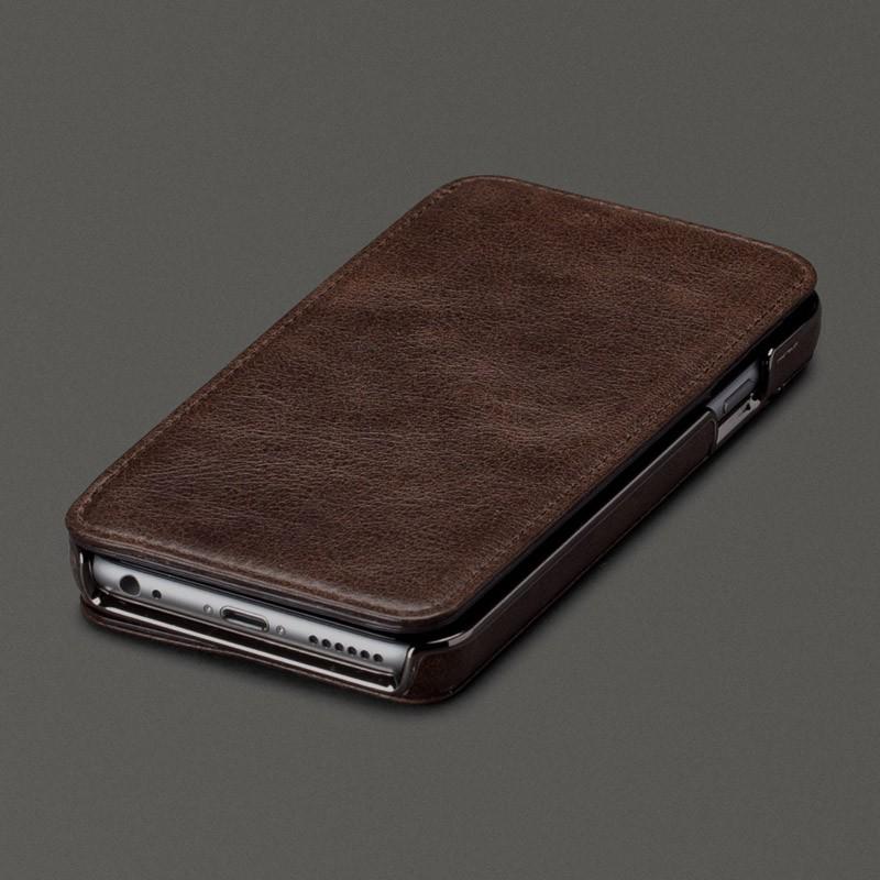 Sena Heritage Wallet Book iPhone 6 Praline - 1