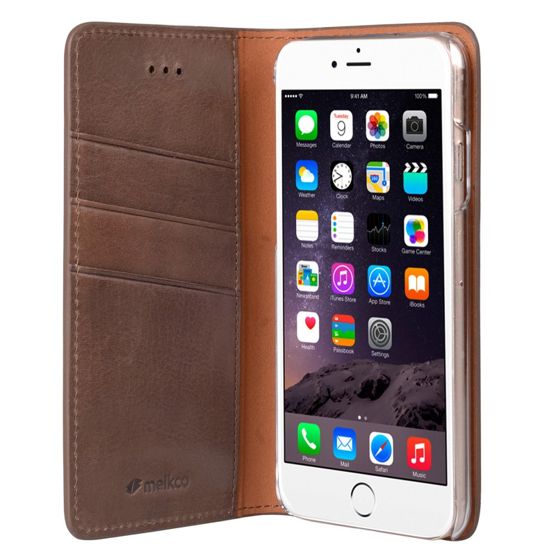 Mekco Herman Wallet Case iPhone 6/6S Brown - 4