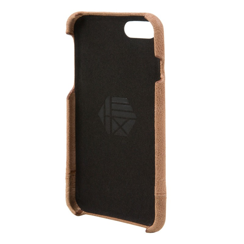 Hex Focus Case iPhone 7 Brown - 3