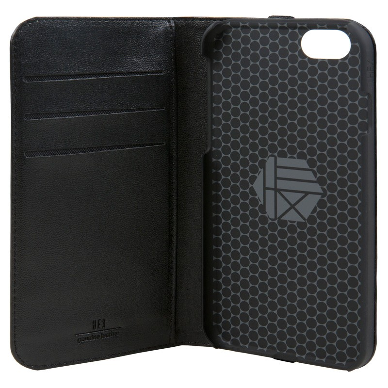 Hex Icon Wallet iPhone 7 Black/Gold - 4